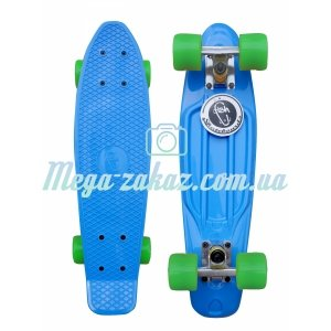 Скейтборд/скейт Penny Board (Пенни борд) Fish: 8 цветов, Fishskateboards
