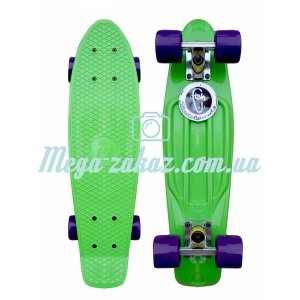 Скейтборд/скейт Penny Board (Пенни борд) Fish: Green Collection