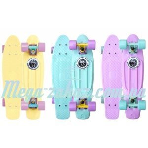 Скейтборд/скейт пенни борд (Penny Board) пенни Pastels Siries