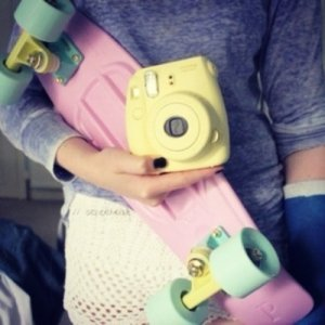 "Скейтборд/скейт пенни борд (Penny Board) пенни Pastels Siries ""Пастельные оттенки"" : Penny board lilac, Fishskateboards"