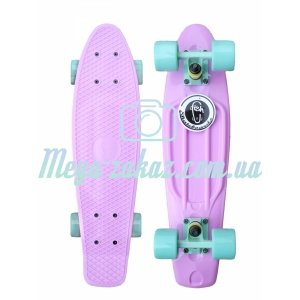 "Скейтборд/скейт пенни борд (Penny Board) пенни Pastels Siries ""Пастельные оттенки"" : Penny board Mint, Fishskateboards"