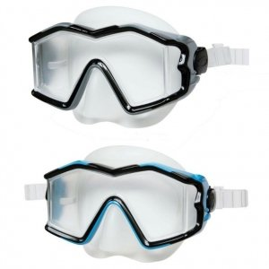 Маска для плавания Explorer Pro Mask Intex 55982: 2 цвета, от 14 лет